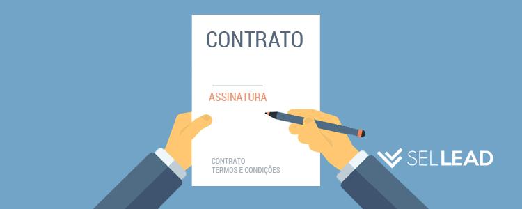 preenchimento de contrato automatizado sellead