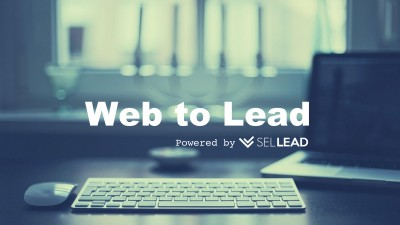 New Feature > Web-to-Lead