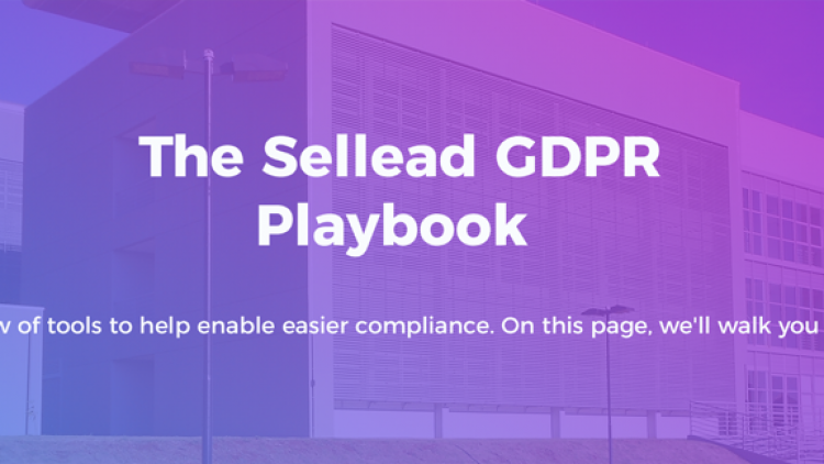 The Sellead GDPR Playbook